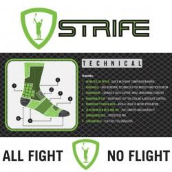 Adrenaline Strife Technical Socks White