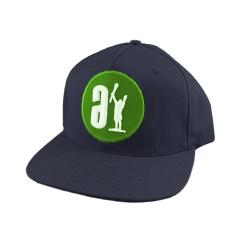 Adrenaline Corpo 2 Classic Snapback Hat Black w/ Green