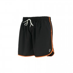 Throwback 66 Training Shorts (Black w/ Orange) - Adrenaline