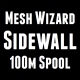 Mesh Wizard Sidewall String 100m Spool