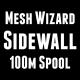 Sidewall Mesh Wizard 100m na szpuli