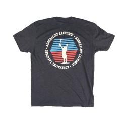 Adrenaline Fade Navy Blue Tshirt