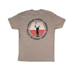 Adrenaline Fade Granatowy Tshirt