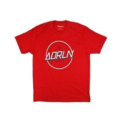 Adrenaline Cruz Red and White Tshirt
