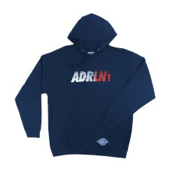 Montezuma Zip-up Hoodie Navy Blue - Adrenaline
