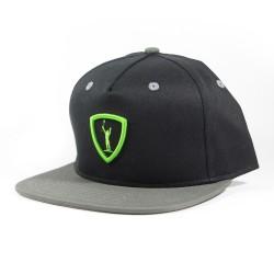 Adrenaline Rukus Classic Snapback Hat Black w/ Grey