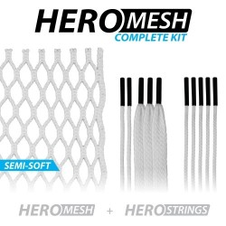 12d HeroMesh Goalie Semi-Soft Stringing Kit