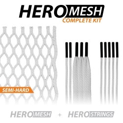 12d HeroMesh Goalie Semi-Hard Stringing Kit