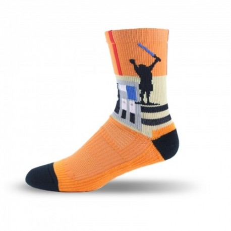 Adrenaline Vendetta Socks - Droid Gold