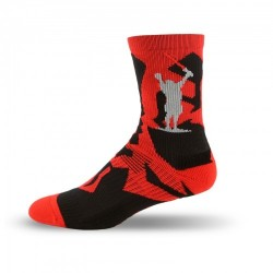 Adrenaline Vendetta Socks - Master Red