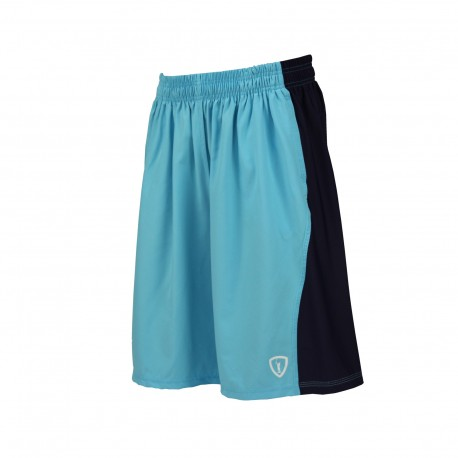 River 66 Training Shorts (Carolina w. Navy Blue) - Adrenaline