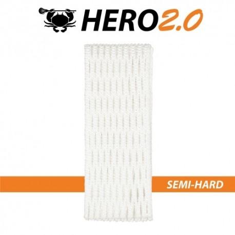 Hero2.0 Siatka Średnio Twarda 10D Biała