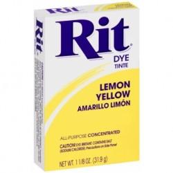 Barwnik Rit Dye w proszku Lemon Yellow