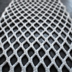Throne Mesh 10D 15mm White