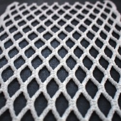 Throne Mesh 10D 20mm White