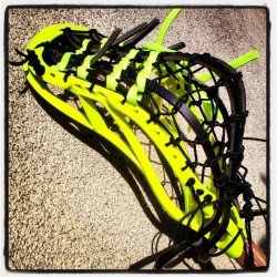 Pita Pocket Traditional Lacrosse Stringing