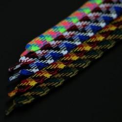 Jimalax Multicolor Laces - 3 pack